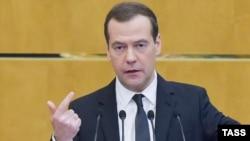 Выступление Дмитрия Медведева перед ГД РФ 19 апреля 2017 года
