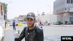 Боец формирований Национального перходного совета Ливии