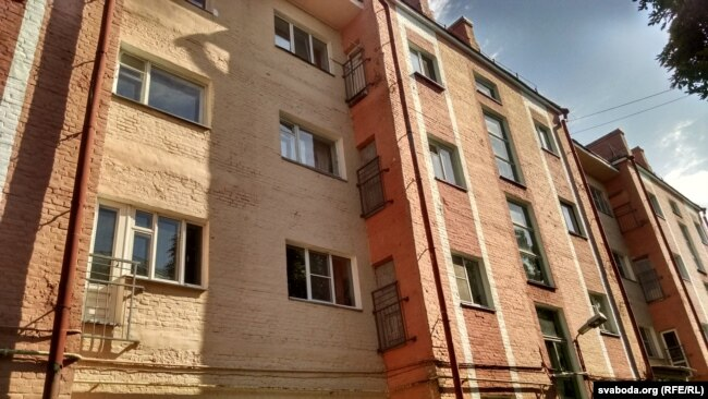 Дом, в котором Роман Безруков жил в Гомеле