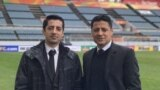 محمدرضا فغانی (چپ) و علیرضا فغانی