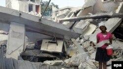La Port-au-Prince după cutremur
