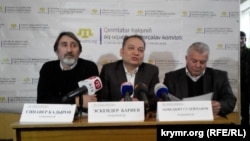 Пресс–конференция координаторов Комитета по защите прав крымскотатарского народа