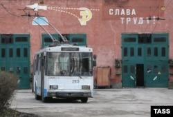 Депо «Крымтроллейбуса». Симферополь, 2015 год