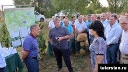 Летом с планами строительства Елабуги ознакомился президент Татарстана Р.Н.Минниханов