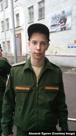 Алексей Егоров на присяге