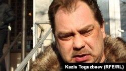 """Михаил Сизов, """"Алға"""" партиясын құру бойынша ұйымдастыру комитетінің төрағасы. Алматы, 5 желтоқсан 2012 жыл"""