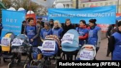 На митинге в Иркутске. Фото Екатерины Вертинской.
