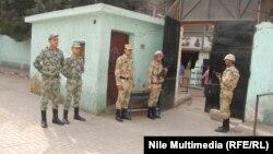 قوات الجيش المصري في القاهرة