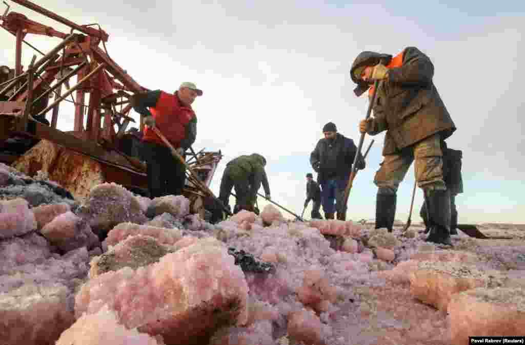 Соль добывают раз в год – в период с августа по декабрь