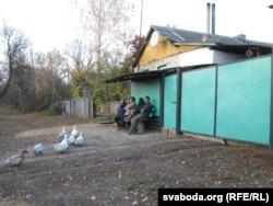 У памежнай вёсцы Сянькоўка