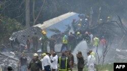 Місце падіння літака на Кубі, 18 травня 2018 року