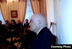Память Сигурда Шмидта должна быть увековечена, считает Александр Музыкантский