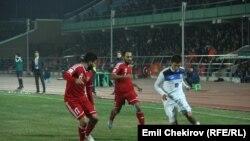 Кыргызстан менен Иорданиянын футболчулары. 17-ноябрь, 2015-жыл
