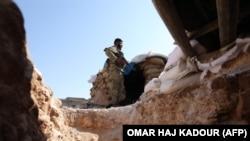 В Сирии в районе вооруженного противостояния.