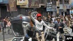 Немирите на протестите во Јемен