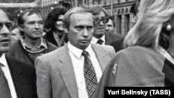 Володимир Путін у 1992 році. Архівне фото