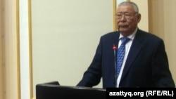 Парламенттің экс-депутаты Амангелді Айталы.