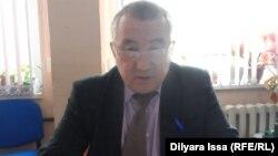 Ерлан Пірімқұлов, Шымкент қалалық білім бөлімінің бас маманы. Шымкент, 23 қараша 2015 жыл.