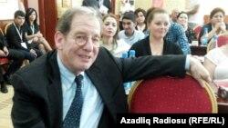Чрезвычайный и полномочный посол США в Азербайджане Ричард Морнингстар. 21 сентября 2013