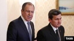 Türkmenistanyň hökümet başlygynyň orunbasary, daşary işler ministri Reşit Meredow. Arhiw suraty
