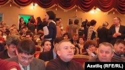 Мәдәният хезмәткәрләренең еллык җыелышы. Казан, 5 февраль 2013
