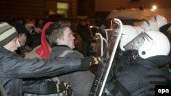 Беспорядки в Риге в январе 2009 года