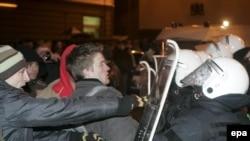 Латыши не ожидали такой реакции своей полиции