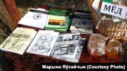 Кнігі і мёд краязнаўцы і гісторыка Валера Тухты