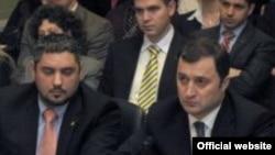 Moldovan Prime Minister Vlad Filat testifies before the U.S. Helsinki Commission on January 21.