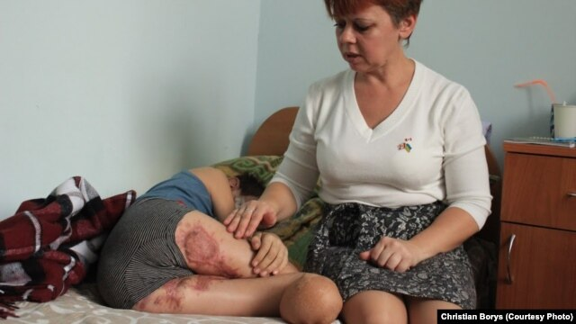 Kolya's mother went into shock following his accident.