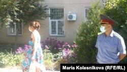 В Иссык-Кульской области проводятся противочумные мероприятия. 26 августа 2013 года.