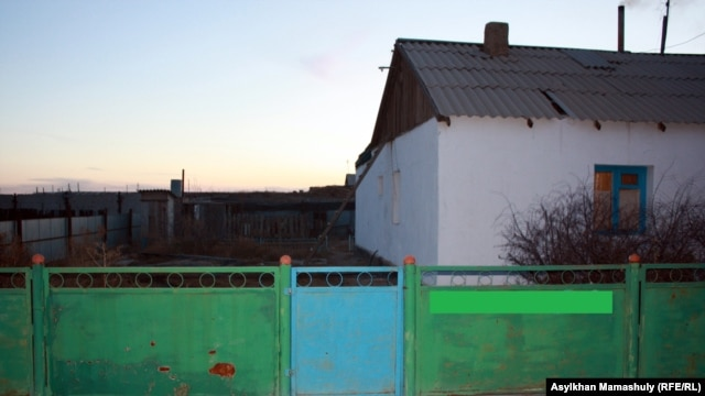 The house where Yerzhan Danikhanov grew up.