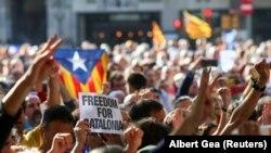 Протести у Барселоні, 20 вересня 2017 року