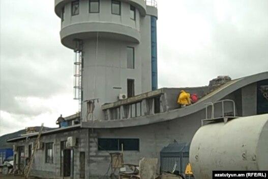 Новое здание Степанакертского аэропорта