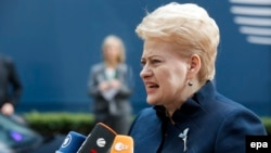 Litwanyň prezidenti Daliýa Gribauskaýte