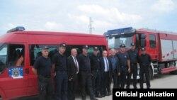 Nisja e ekipit të emergjencave nga Kosova për në Maqedoni