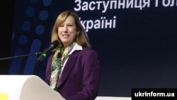 Kristina Kvien was previously the deputy head of the U.S. mission to Ukraine.