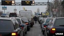 Більше 200 автомобілів заблокували в'їзди до міста, 24 січня 2017 року
