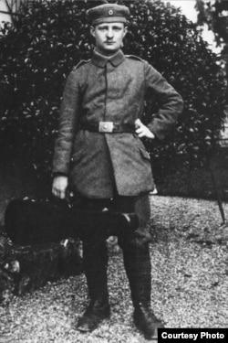 Пауль Хиндемит на фронте