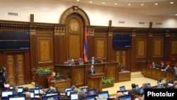 Armenia -- A session of parliament, 15Nov2010.