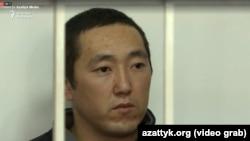 Обвиняемый в убийстве Бурулай Марс Бодошев.