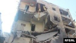 Сирия, руины Алеппо