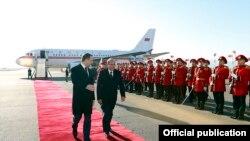 Премьер-министр Армении Овик Абрамян прибыл в Грузию, 11 декабря 2014 г.