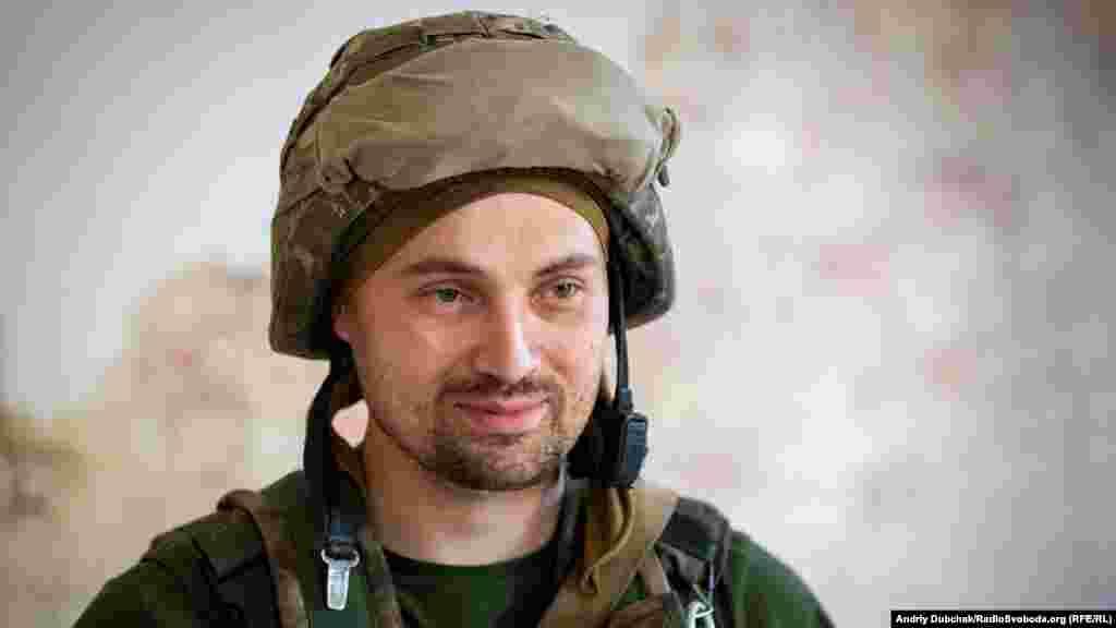 «Ряба» Ему 33 и он из Черкасс. Этот военный защищает позиции возле Марьинки