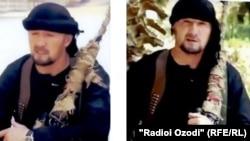 Гулмурод Халимов, бывший командир отряда милиции особого назначения (ОМОН) МВД Таджикистана. Кадры из видеоролика, размещенного в Сети.