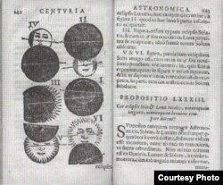 Альбэрт Дыблінскі. Астранамічная сотня. Вільня, 1639
