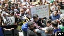 مراسم روز کارگر در تهران در اردیبهشت ۱۳۸۵