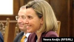 Представитель Европейского союза по внешней политике Федерика Могерини.