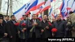 Ігор Плотницький та Олександр Захарченко з візитом у Криму, 18 січня 2017 року