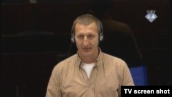 Svjedok Nermin Karagić u sudnici 21. veljače 2013.